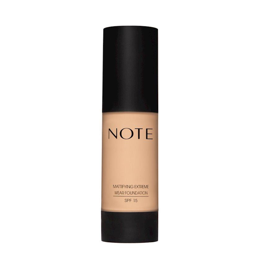 Tonal krem Note Mattifying Extreme Wear Foundation SPF15 01 Beige, 35 ml