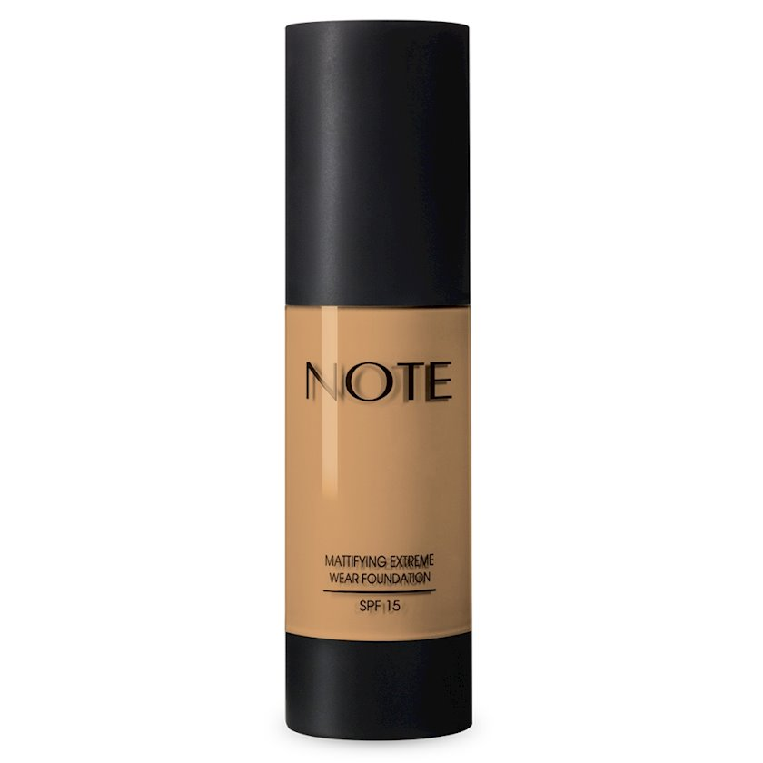 Tonal krem Note Mattifying Extreme Wear Foundation SPF15 04 Sand, 35 ml