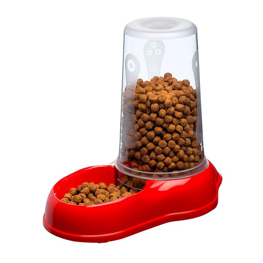 Dispenser Ferplast Azimut Large pişiklər, küçüklər və kiçik itlər üçün qırmızı 3000 ml