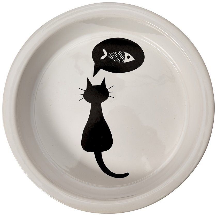 Keramik kasa Trixie Qara Pişik 250 ml