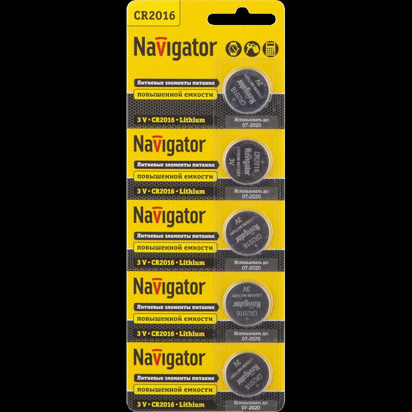 Batareya Navigator 94 763 NBT-CR2016-BP5