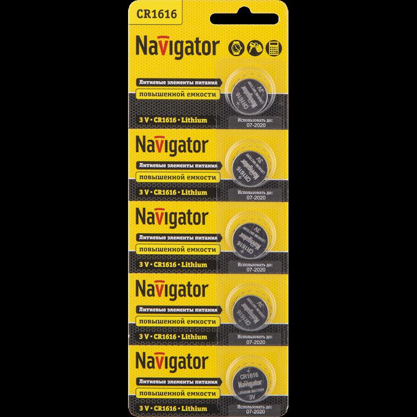 Batareya Navigator 94 779 NBT-CR1616-BP5