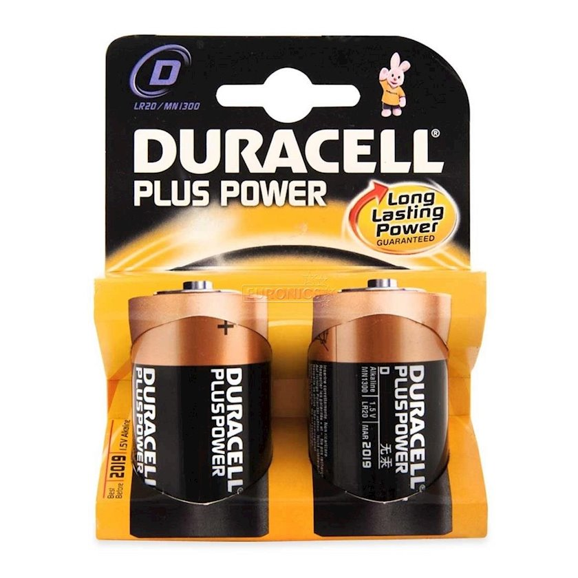 Batareya Duracell D Plus Power