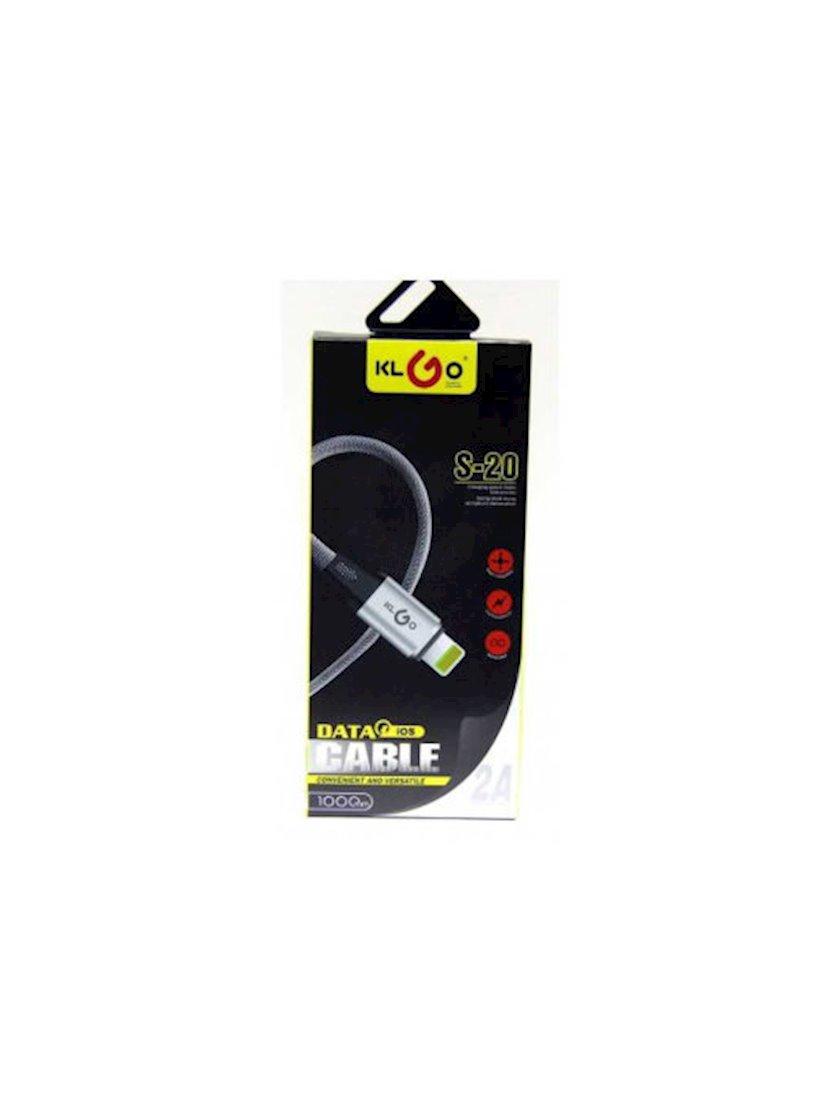 Kabel KLGO USB IOS Lightning S-20 1 m