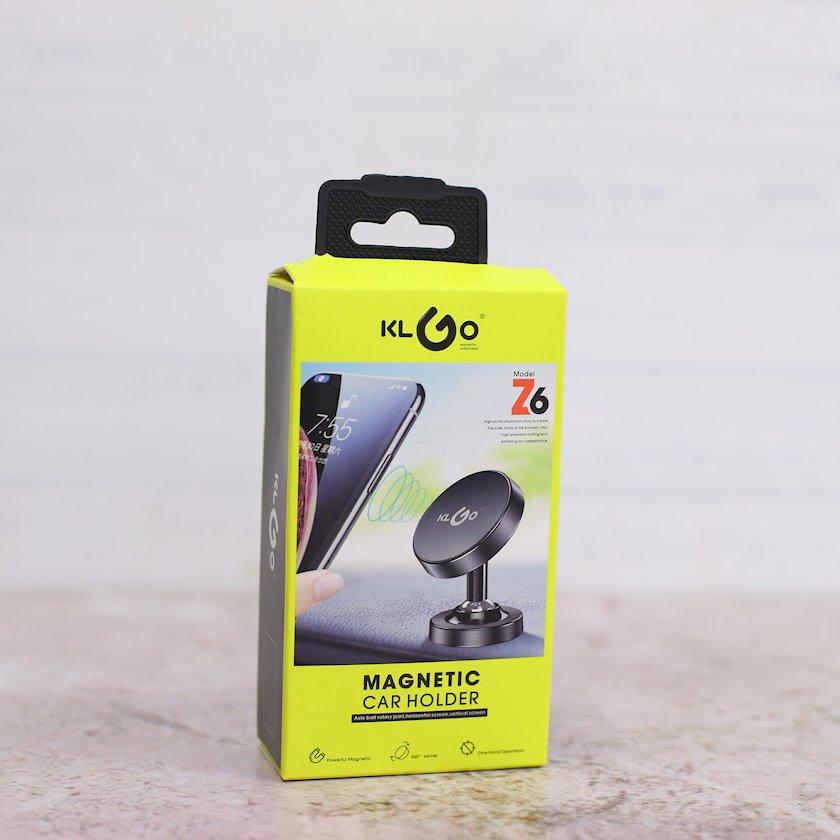 Maqniq tutacağı KLGO Z-6 telefon üçün Qara