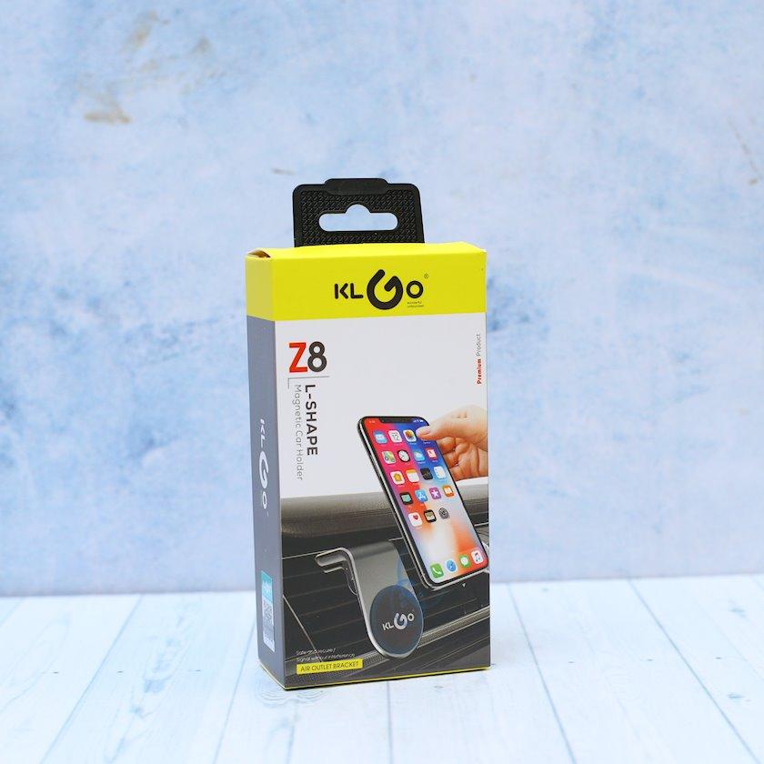 Maqniq tutacağı KLGO Z8 telefon üçün Qara