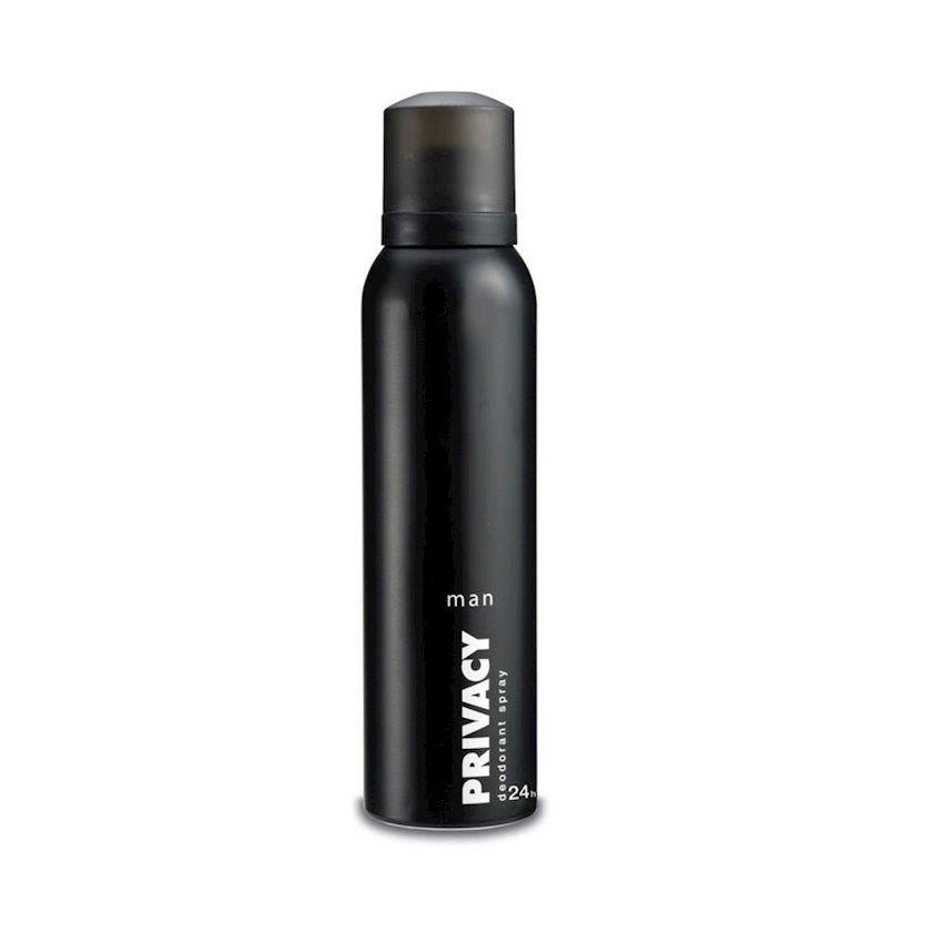Kişilər üçün dezodorant Privacy Man,150 ml