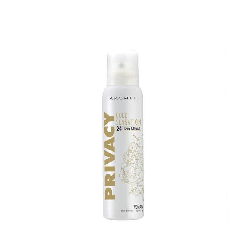 Qadınlar üçün dezodorant Privacy Gold Sensation,150 ml