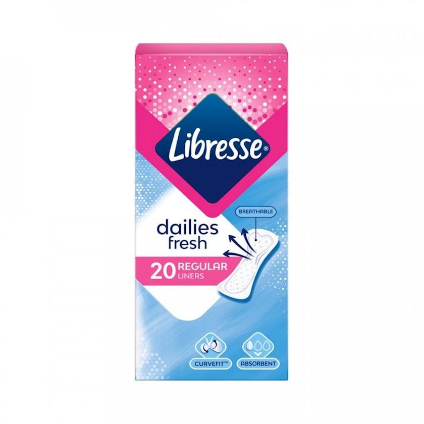Gündəlik gigiyenik qadın bezləri Libresse Daily Fresh 20 ədəd