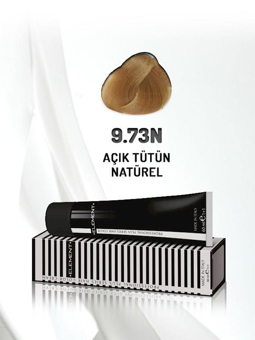 Saç boyası Element Professional Hair Color №9.73N Açık Tütün Natürel 60 ml, Sarışın