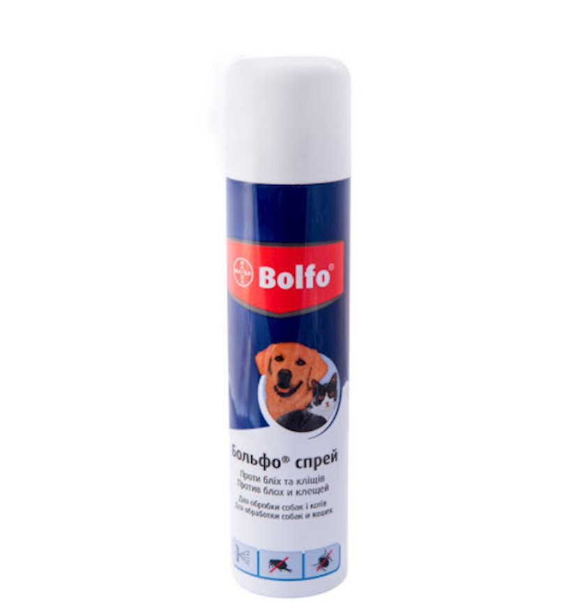 Aerozol Bolfo pişiklər və itlər üçün 250 ml