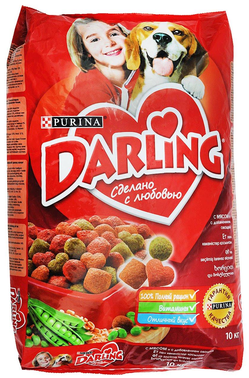 Quru yem Purina Darling itlər üçün ət və tərəvəz ilə 10 kq