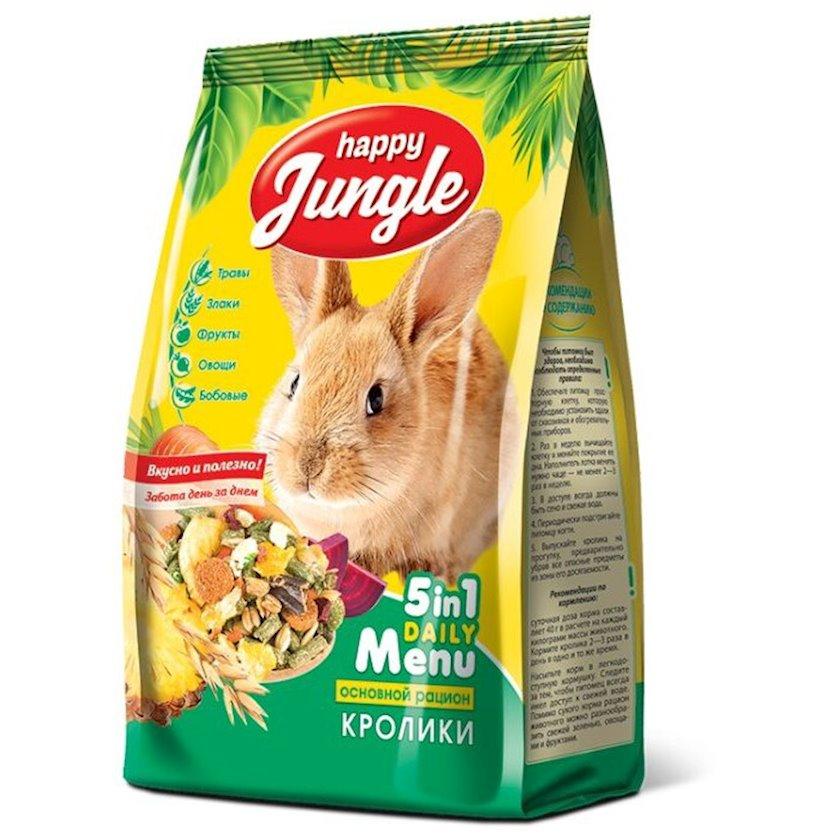 Yem Happy Jungle dovşanlar üçün 500 q