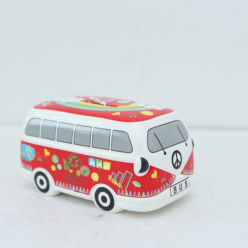 Daxıl avtobus 1697-90, qırmızı