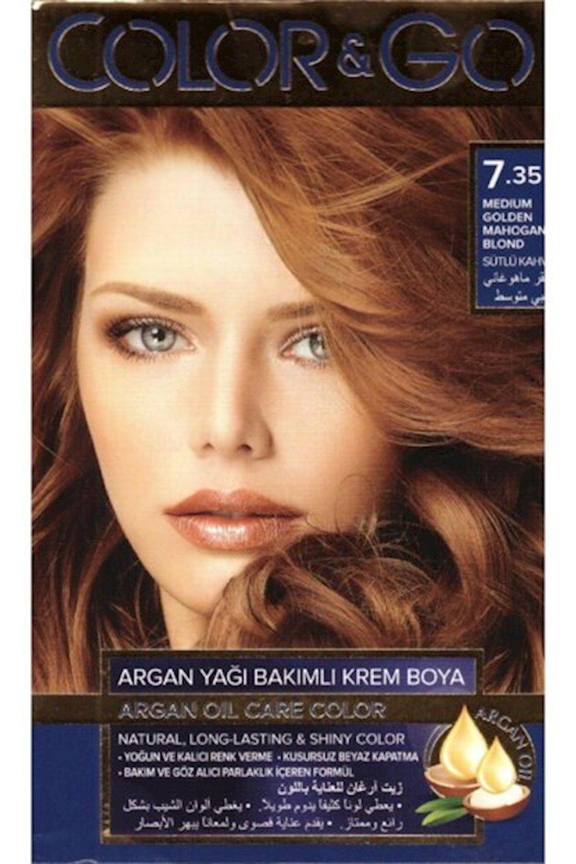 Saç boyası Color&Go 7.35
