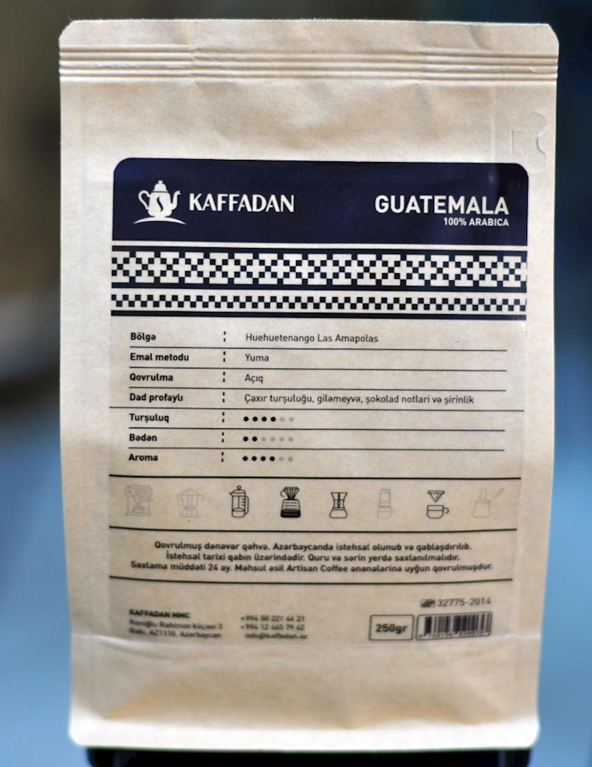 Qəhvə Kaffadan,Mono-Origin Guatemala Huehuetenango Las Amapolas (250 q)