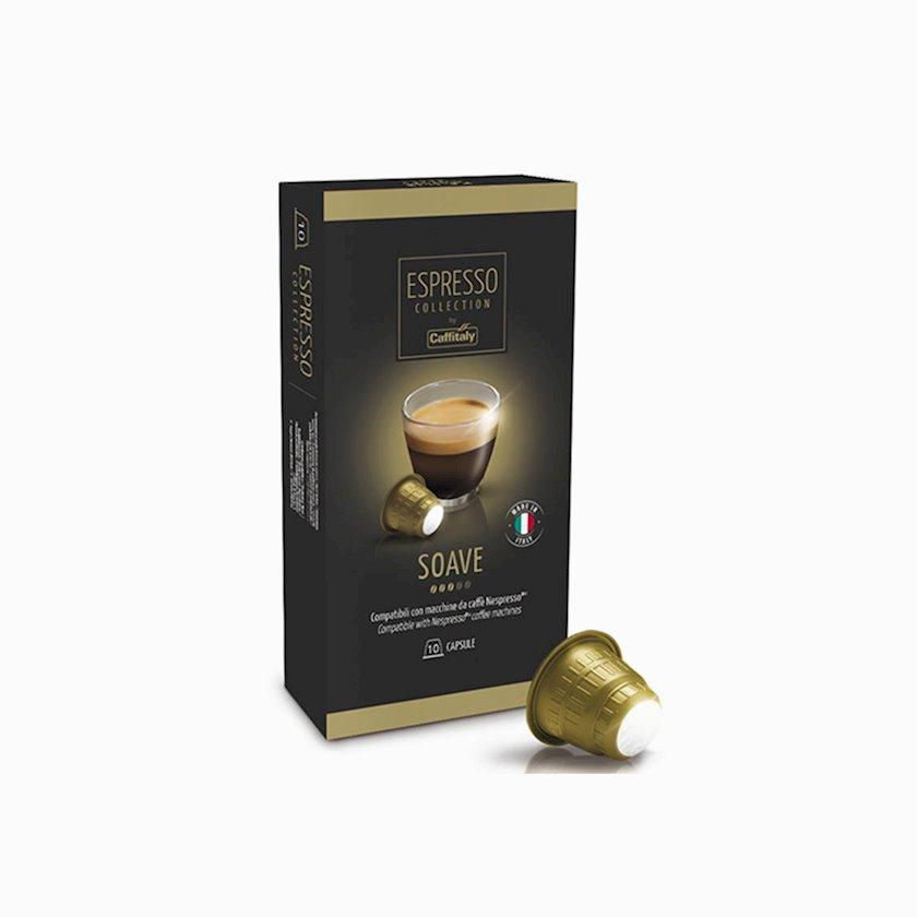 Qəhvə Caffitaly System Soave Nespresso, 10əd
