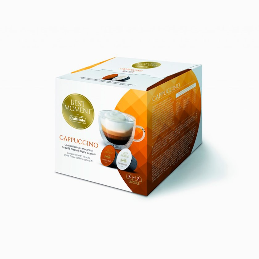 Qəhvə Caffitaly System Best Moment Cappuccino, 16əd