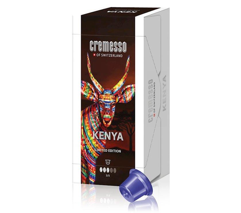 Kapsullarda qəhvə Cremesso Lungo Kenya Limited Edition, 16əd