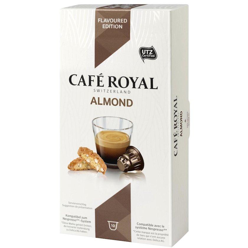 Kapsullarda qəhvə  Café Royal Almond, 10əd
