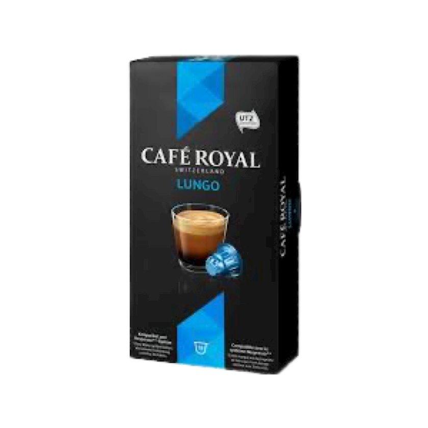 Kapsullarda qəhvə Café Royal Lungo, 10əd