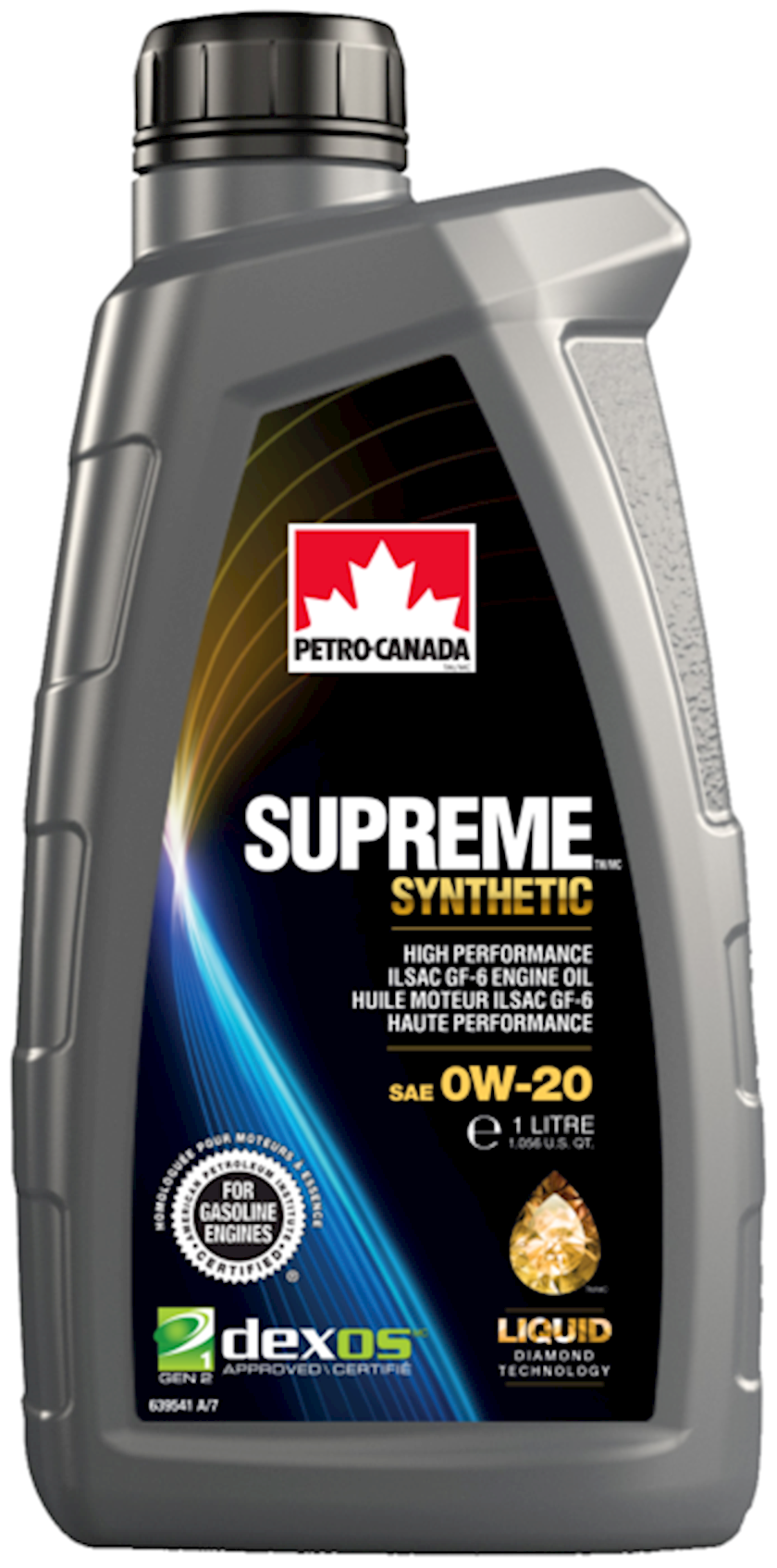 Motor yağı Petro-Canada Supreme Synthetic 0W-20, 1 l
