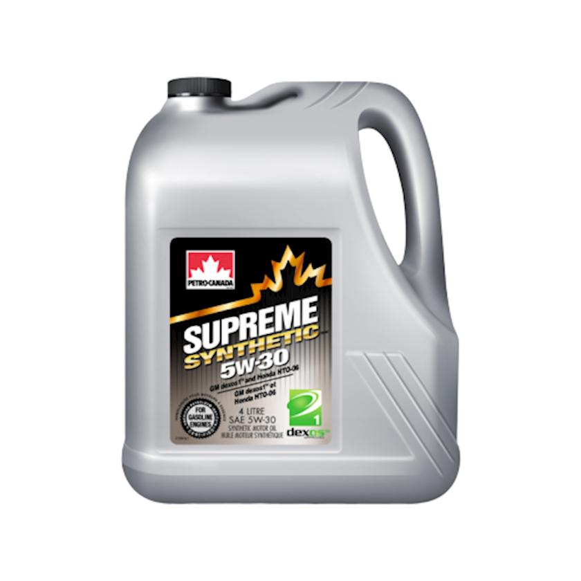 Motor yağı Petro-Canada Supreme Synthetic 5W-30, 4 l