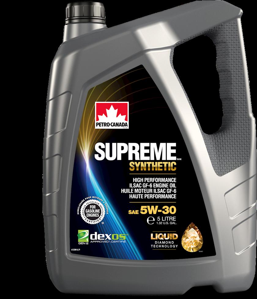 Motor yağı Petro-Canada Supreme Synthetic 5W-30, 5 l