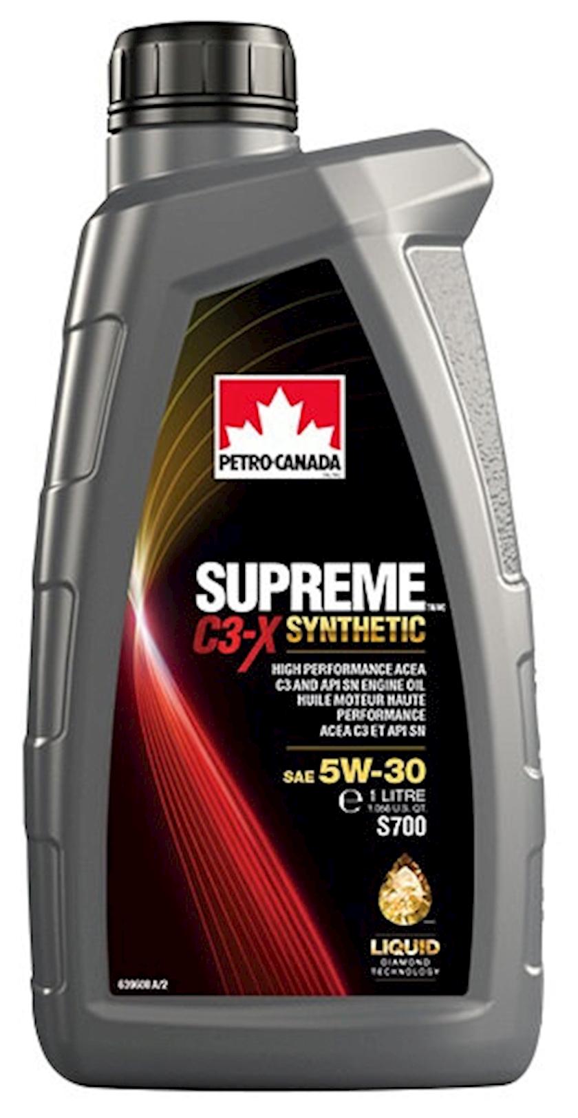 Motor yağı Petro-Canada Supreme C3-X SYN 5W-30, 1 l