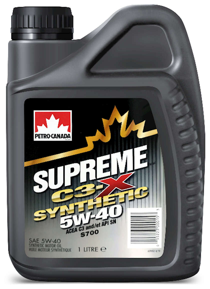 Motor yağı Petro-Canada Supreme Synthetic 5W-40, 1 l