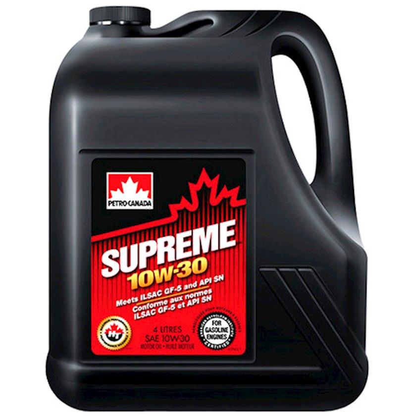 Motor yağı Petro-Canada Supreme 10W-30, 4 l