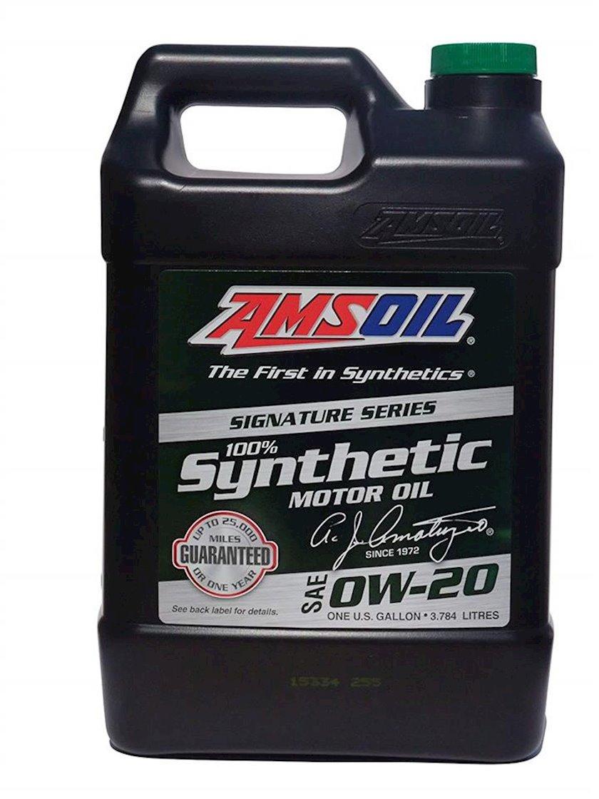 Motor yağı Amsoil Signature Series Synthetic Motor Oil 0W-20, 3.784l