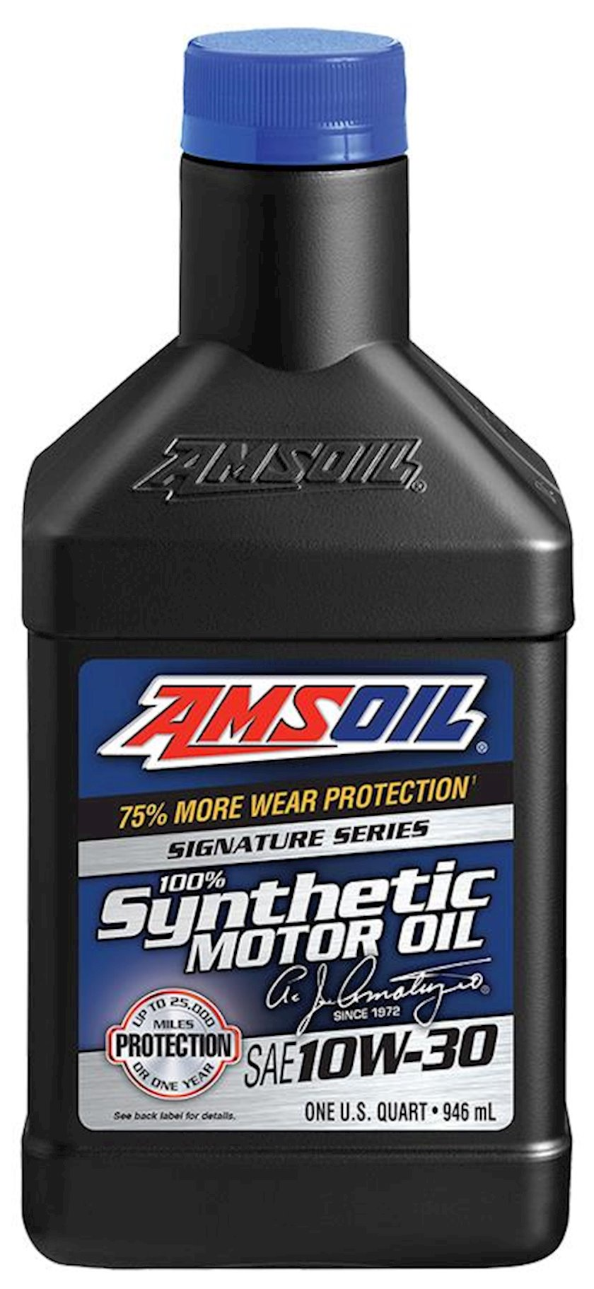 Motor yağı Amsoil Signature Series Synthetic Motor Oil 10W-30, 0.946l