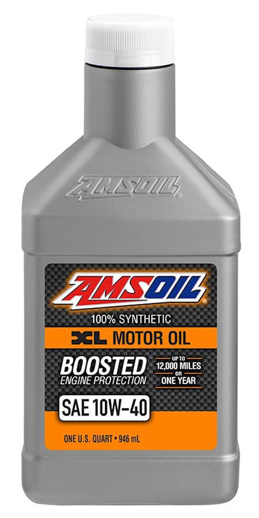 Motor yağı Amsoil XL Extended Life Synthetic Motor Oil 10W-40, 0.946l