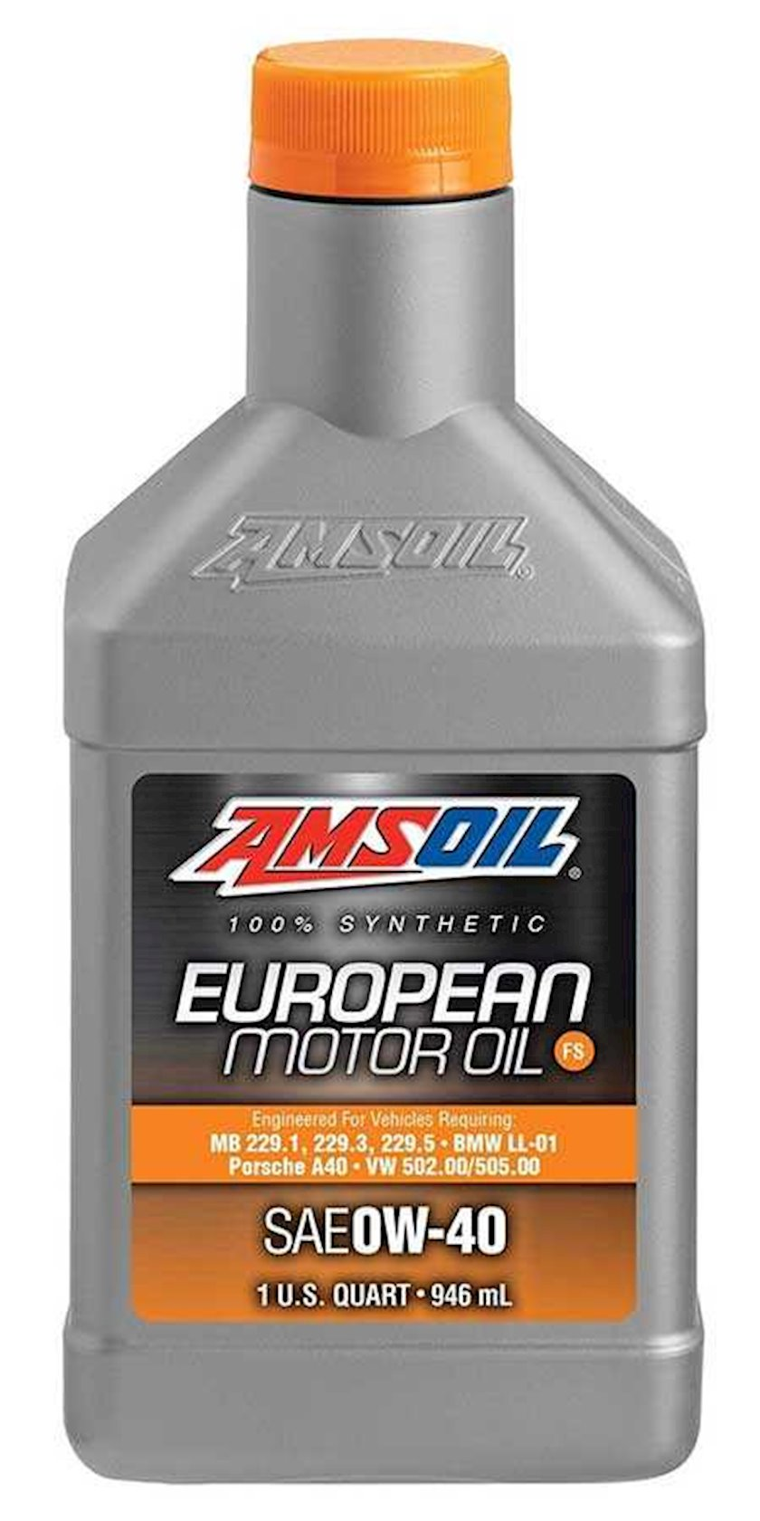 Motor yağı Amsoil Motor Oil OE 0W-40, 0.946l