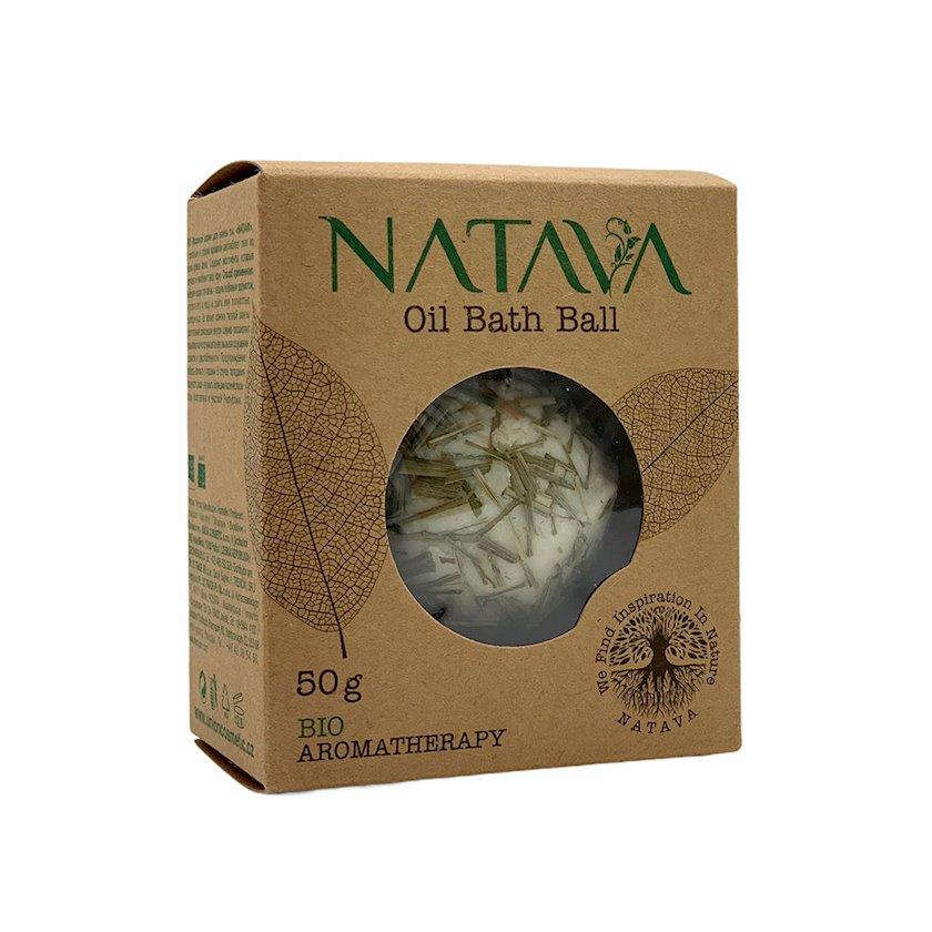 Hamam üçün yağlı top Natava Oil Bath Ball Lemon Grass