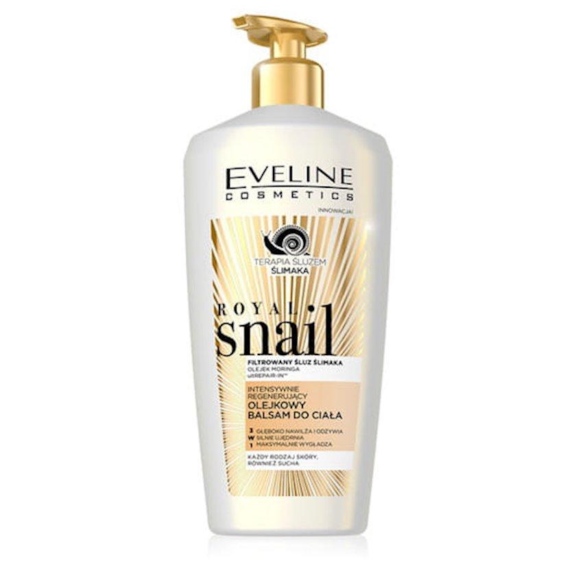 Güclü canlandırıcı balzam- Bədən Yağı Eveline Royal SNail 350ml