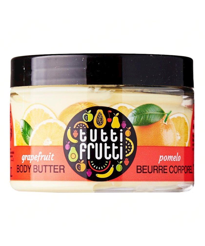 Dəst Farmona Tutti Frutti Grapefruit duş üçün gel 300 ml + bədən üçün yağ 150 ml