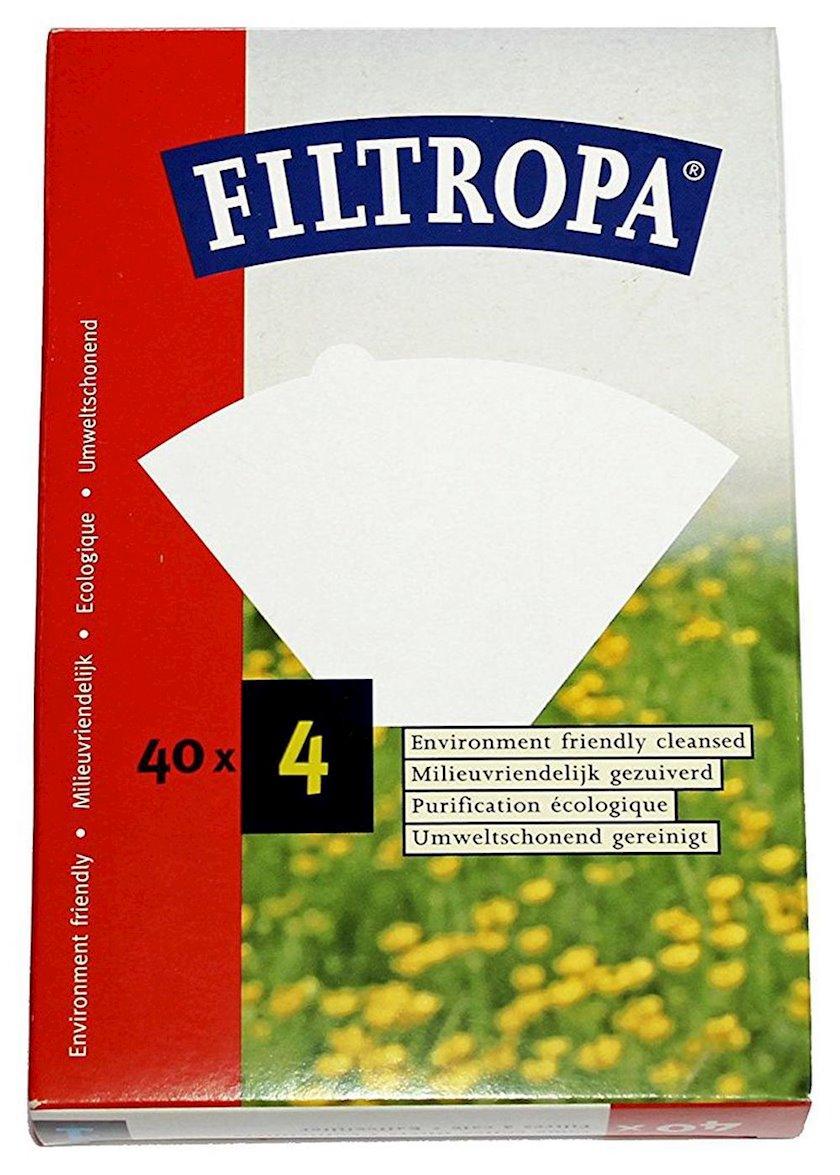 Qəhvə üçün filtr Filtropa Filters Size 04 40 ədəd