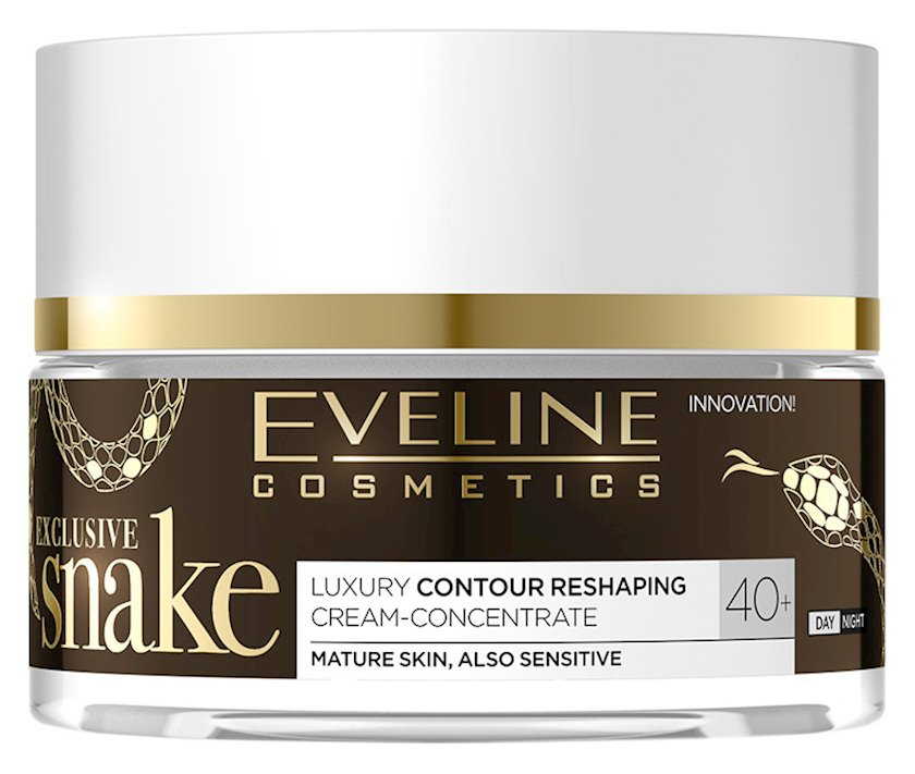 Krem üz üçün Eveline Cosmetics Exclusive Snake Modelling Day/Night Cream 40+