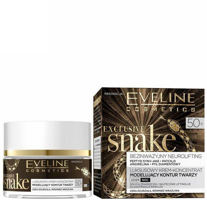 Krem üz üçün Eveline Cosmetics Exclusive Snake Modelling Day/Night Cream 50+