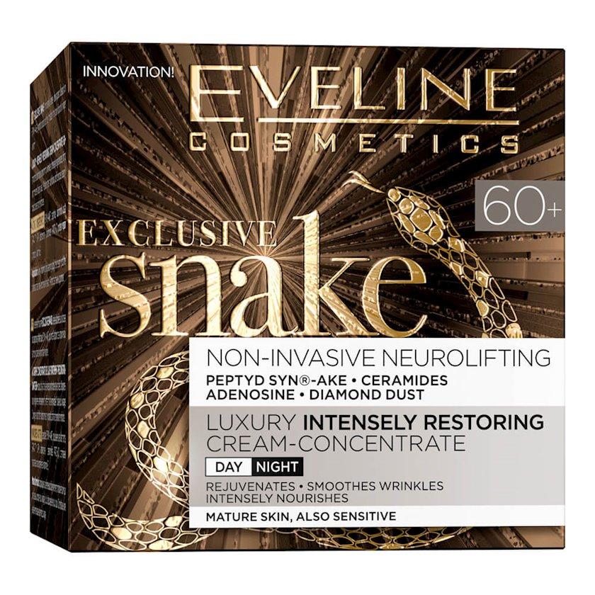 Krem üz üçün Eveline Cosmetics Exclusive Snake Day/Night Cream 60+