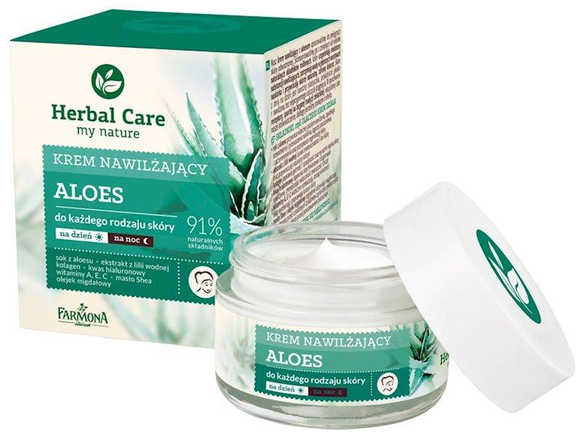 Nəmləndirici krem üz üçün Farmona Herbal Care Aloe