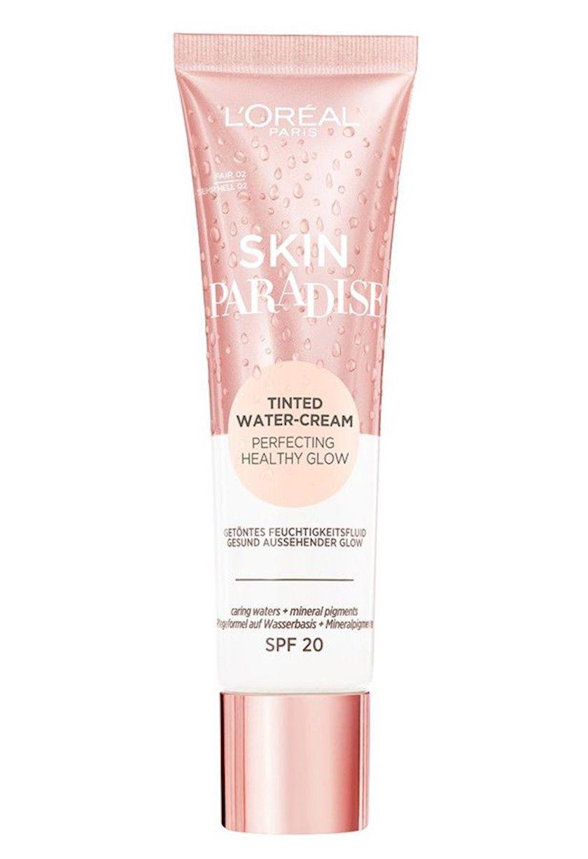 Ton dəyişdirən fluid L'Oréal Paris Skin Paradise Tinted Water Cream Spf 20, 30 ml