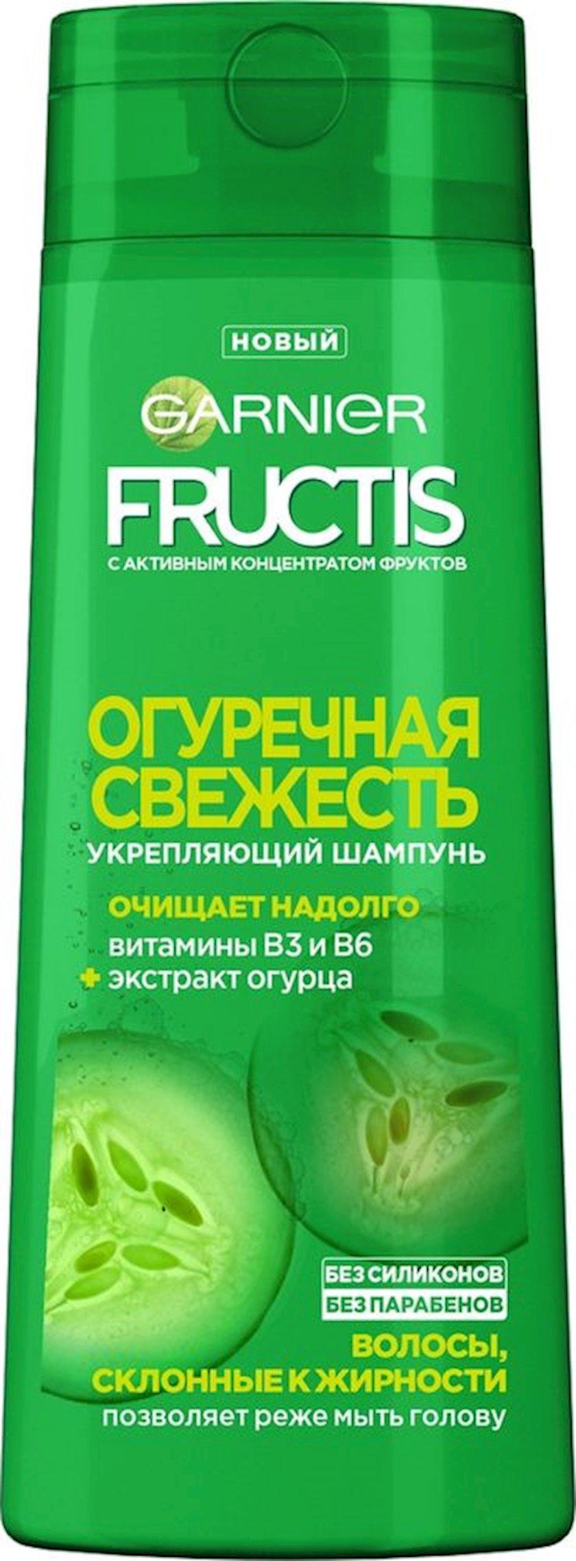 Şampun Garnier Fructis Xiyar təravəti, 400 ml