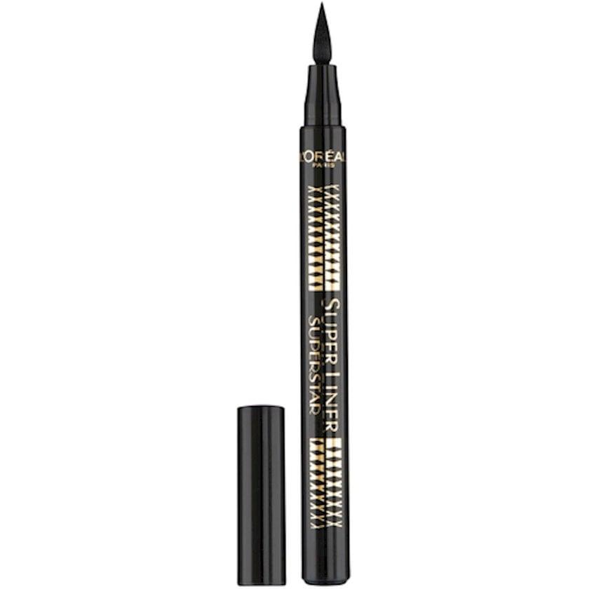 Göz layneri L'Oréal Paris Super Liner Superstar, qara, 1 ml
