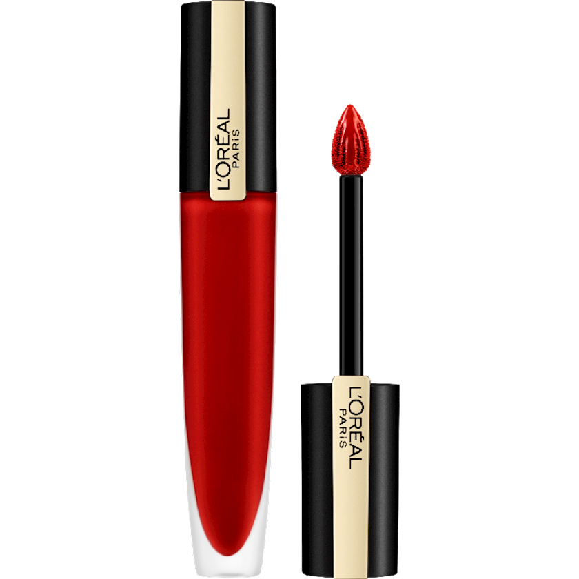 Dodaq üçün pomada-tint L'Oréal Paris Rouge Signature Matte Metallics 203 Magnetize, 7 ml