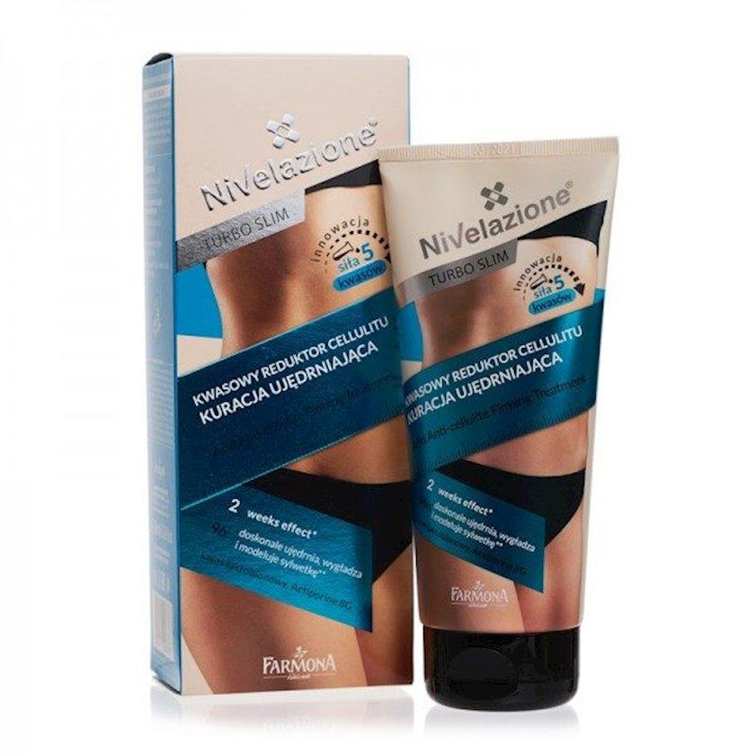 Elastikliyi bərpa edən və arıqladan Farmona Nivelazione Turbo Slim Acid Anti-Cellulite Firming Treatment 200ml