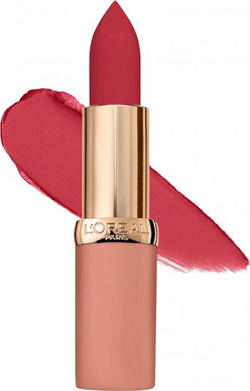 Dodaq üçün pomada L'Oréal Paris Color Riche Ultra Matte Free The Nudes 08 No Lies, 4 q