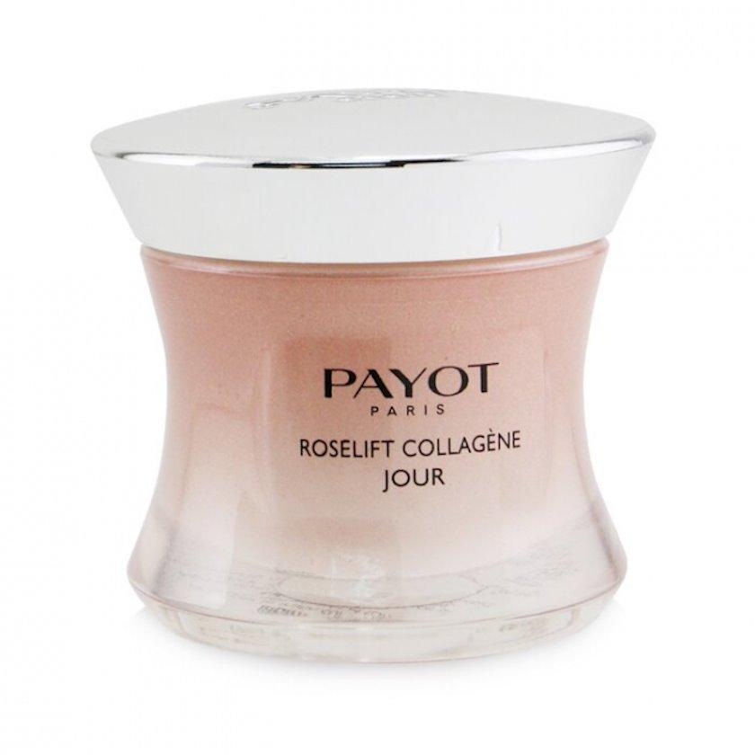 Gündüz üz kremi peptidlər ilə Payot Roselift Collagene Jour, 50 ml